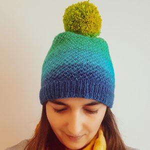 Woman wearing the Eye of Partridge Hat
